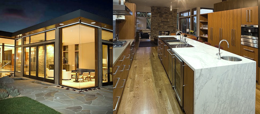 Kitchen Design with Natural Finishes