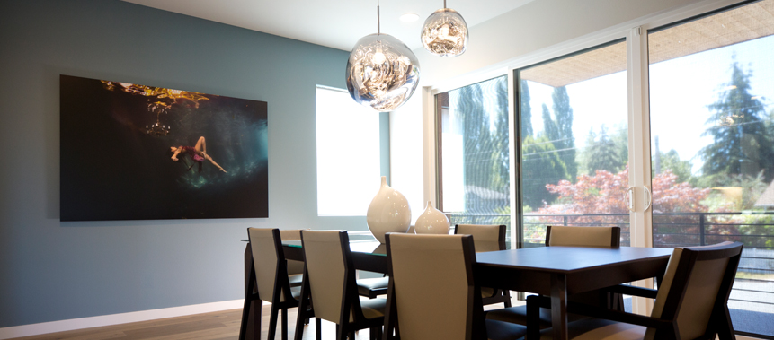 Kirkland, WA, Private Residence Design: Dining Room