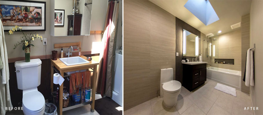 BATHROOM REMODELING PROJECT: BEFORE & AFTER