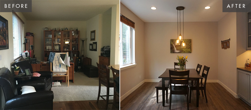 Issaquah Home Remodel: Dining Room