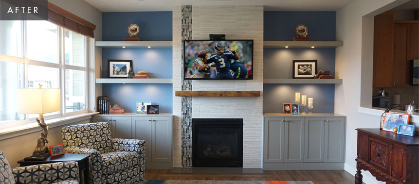 Issaquah Home Remodel: Living Room After