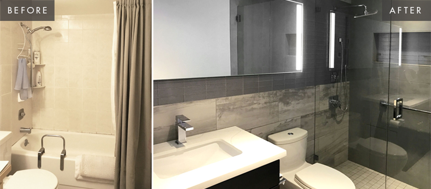 Queen Anne Bathroom Remodel: Before & After