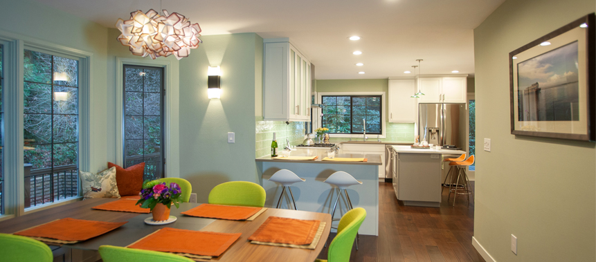 Redmond Home Remodel: Dining Room & Kitchen