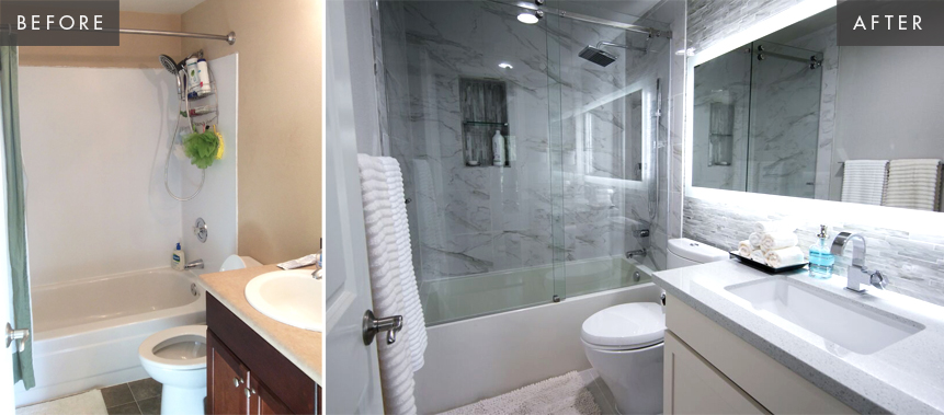 Seattle Condo Remodel: Bathroom Before & After