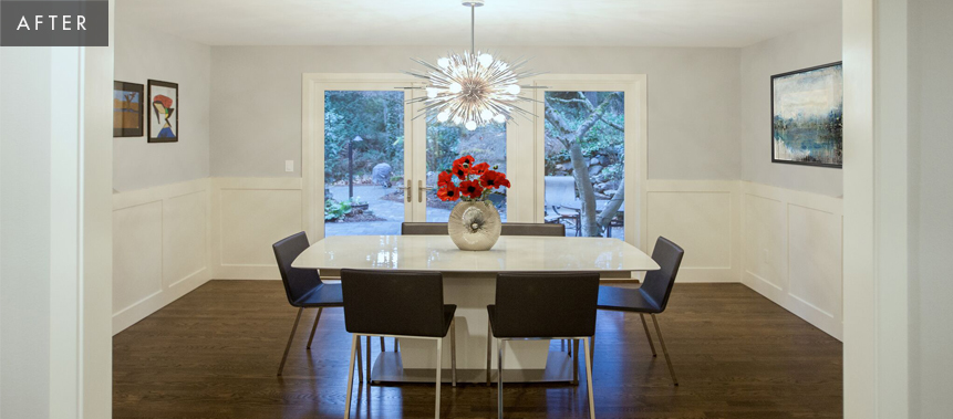 Bellevue Home Remodel: Dining Room After