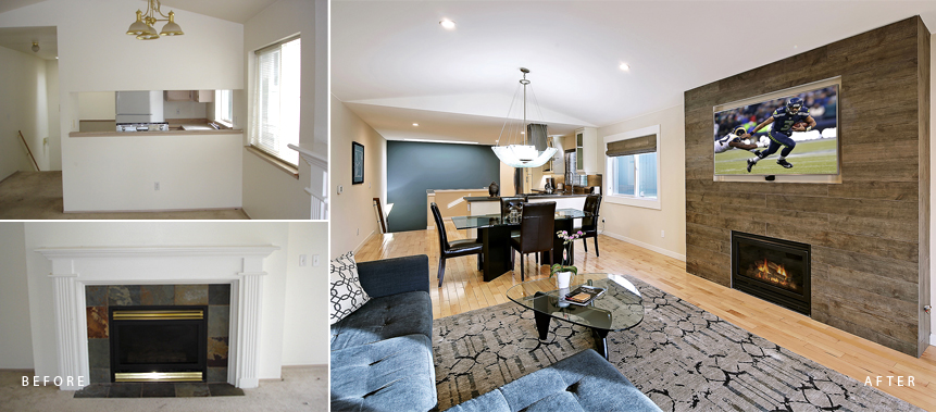 West Seattle Town Home Remodel