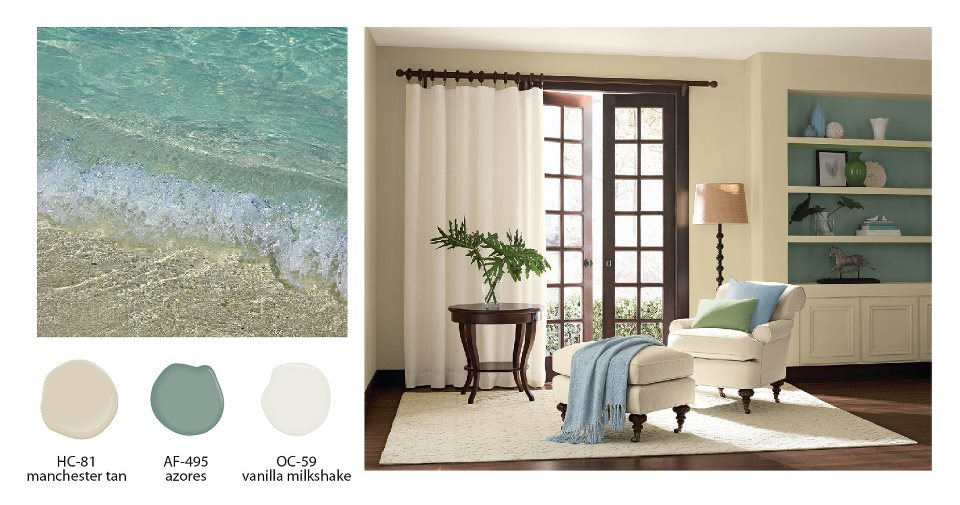 Create the perfect color palette for your home Interior design color palettes