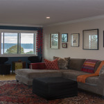 Seattle-Tacoma condominium living room furniture opens up space
