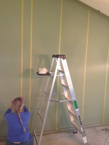 Design Pattern Showcasing Focal Point Wall Painting