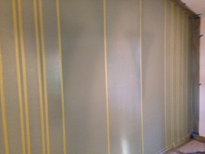 work in progress painting wall design