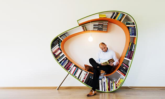 Multifunctional furniture bookshelf