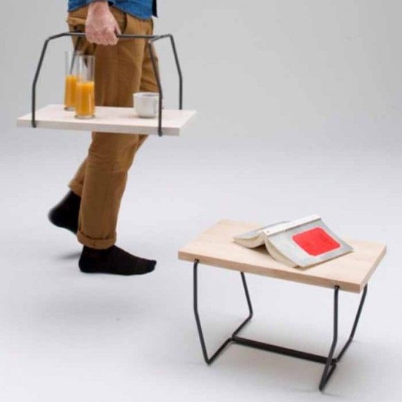 Multifunctional Furniture - Tray & Stool