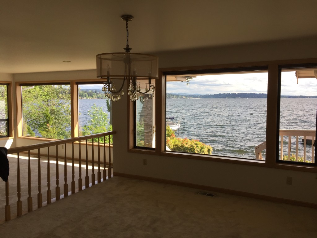 Waterfront Living Room Home Remodeling