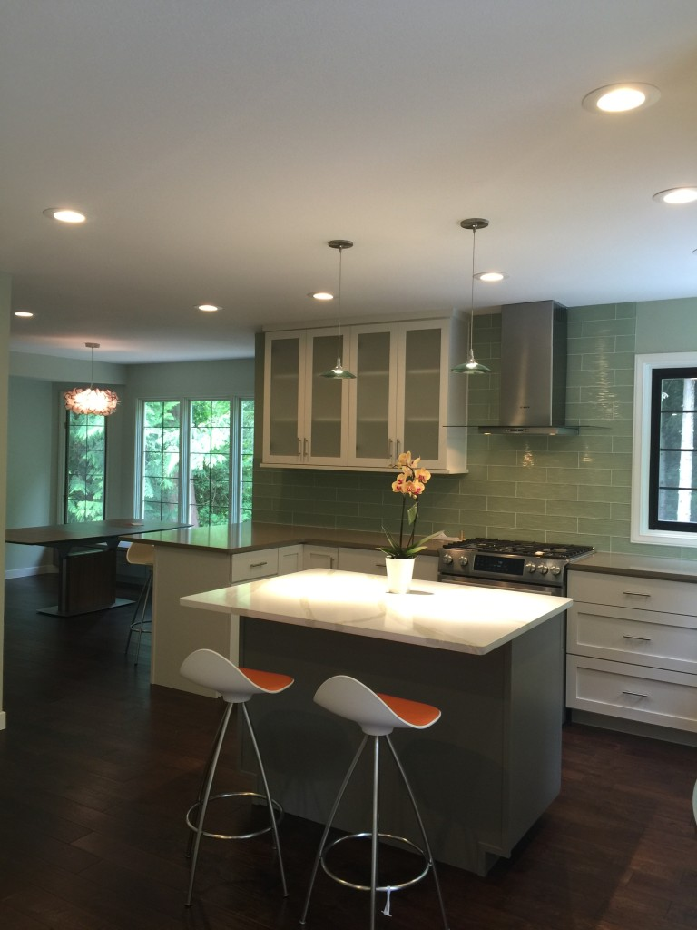Newly Remodeled Kitchen (AFTER) Home Remodeling