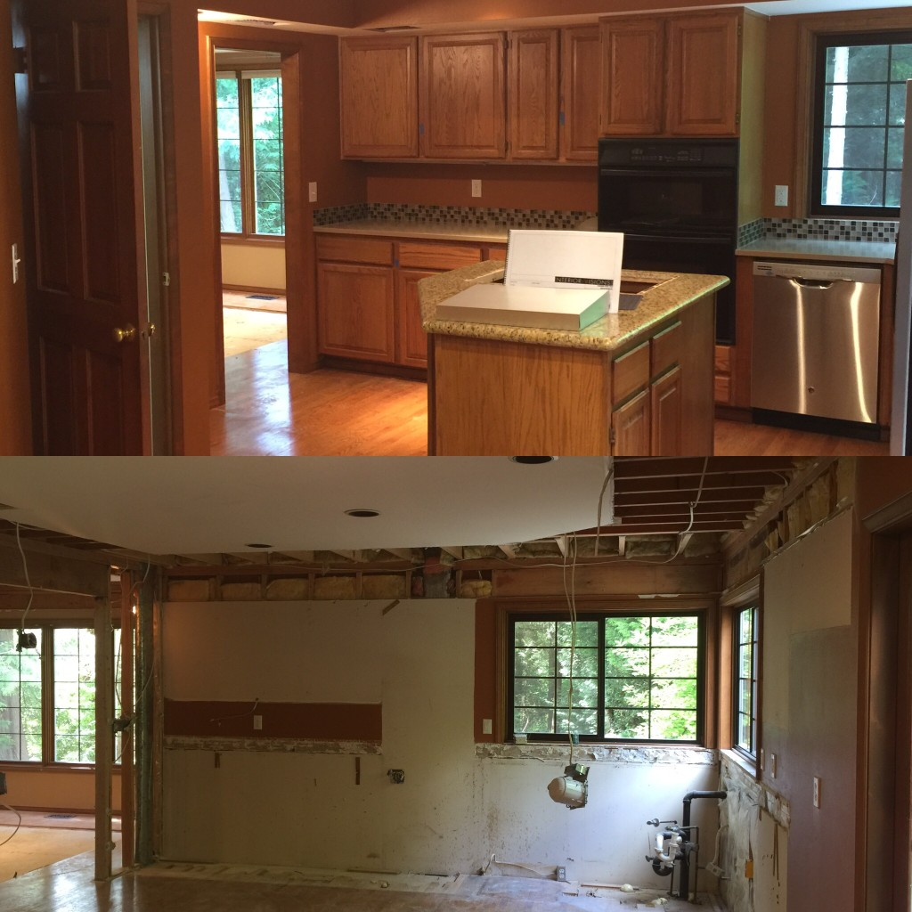 "Kitchen Tear Out (or ""Demo"") for Home Remodeling"